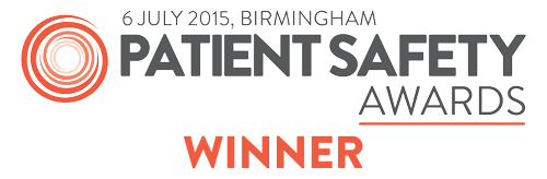 Patient Safety Awards 2015 Winner
