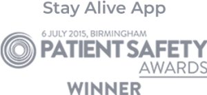 Stay Alive App: Winner Patient Safety Awards 2015