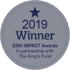 2019 Winner GSK IMPACT Awards In partnership with The King's Fund