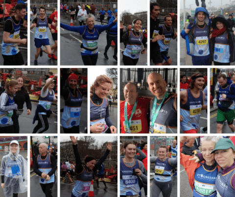 A mosaic of photos of our wonderful Runners.