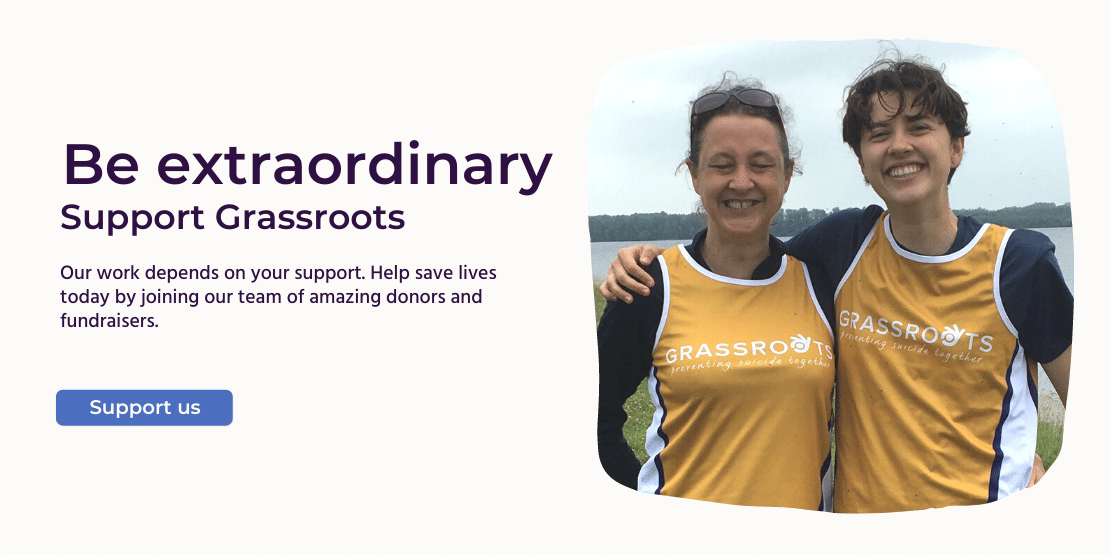 Be extraordinary. Support Grassroots. Our work depends on your support. Help save lives today by joining our team of amazing donors and fundraisers. Support us.